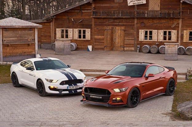 Студиото Geiger Cars тунингова Ford Mustang