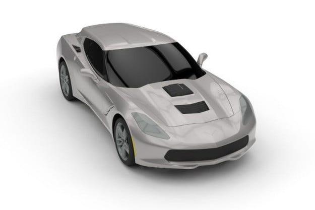 Тунинг студио направи от Chevrolet Corvette комби
