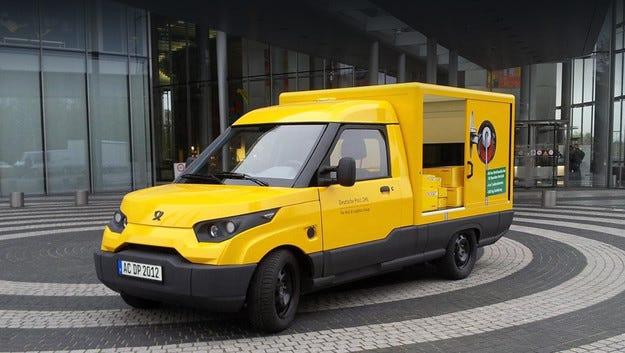 Германската поща ще произвежда фургони StreetScooter