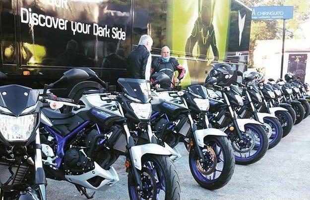 Европейското турне Yamaha MT Tour за първи път в София