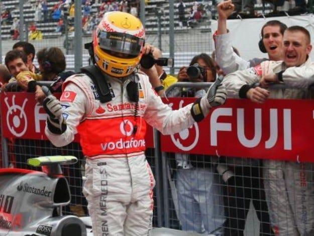 Квалификации - Гран при на Япония 2007