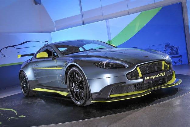 Aston Martin Vantage получи пистова версия