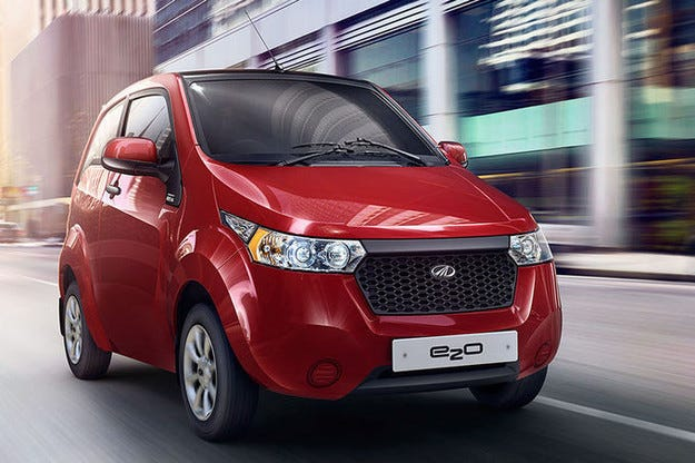 Електромобилът Mahindra E2O идва с конкурентна цена
