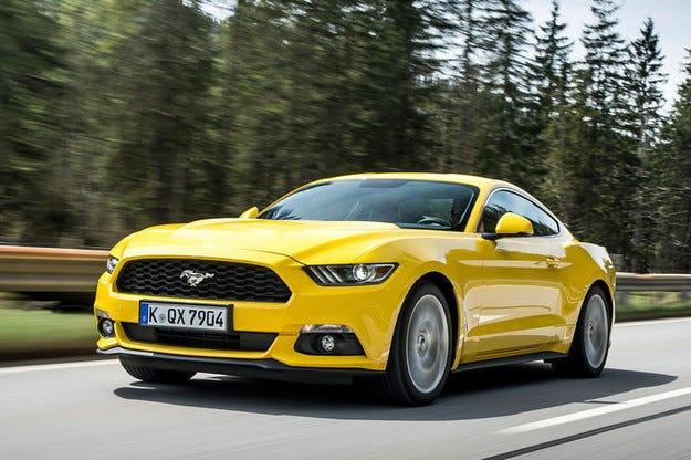 Ford Mustang е най-продаваната спортна кола в света