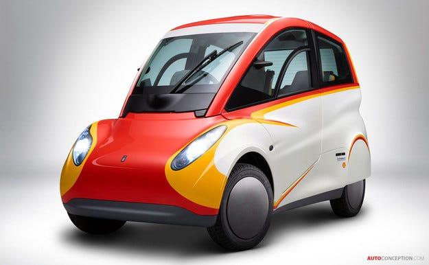 Shell разработи свръхикономичен мини автомобил