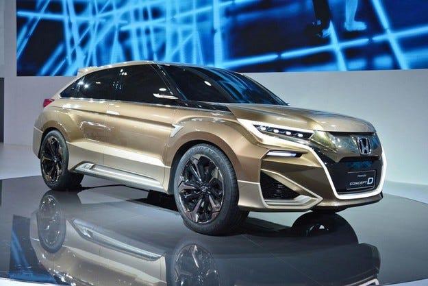 Honda Concept D получи серийна версия за Китай