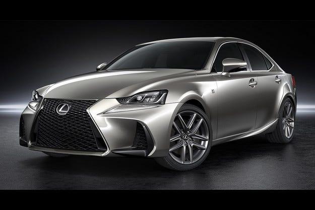 Козметични промени за най-малкия седан на Lexus