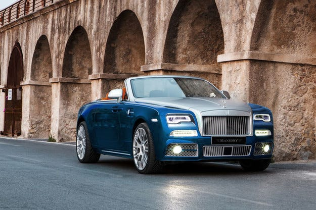 Mansory облагороди Rolls Royce Dawn със 740 к.с.