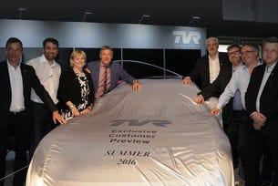 Британският TVR обяви лятна премиера на ново купе