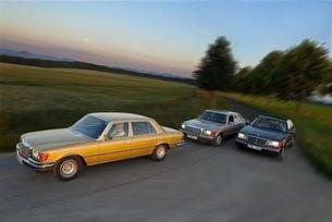 Mercedes-Benz 450 SEL 6.9, 560 SEL, 600 SEL