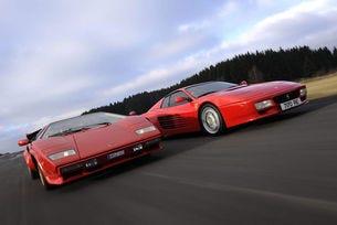 Ferrari 512 Testarossa и Lamborghini Countach