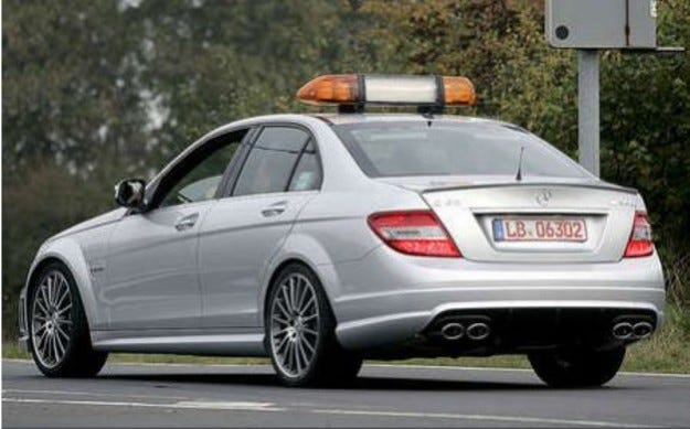 Mercedes C63 Safety-Car