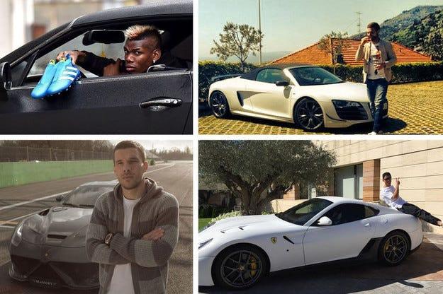Автомобилите на звездите от Европейското футболно първенство 2016