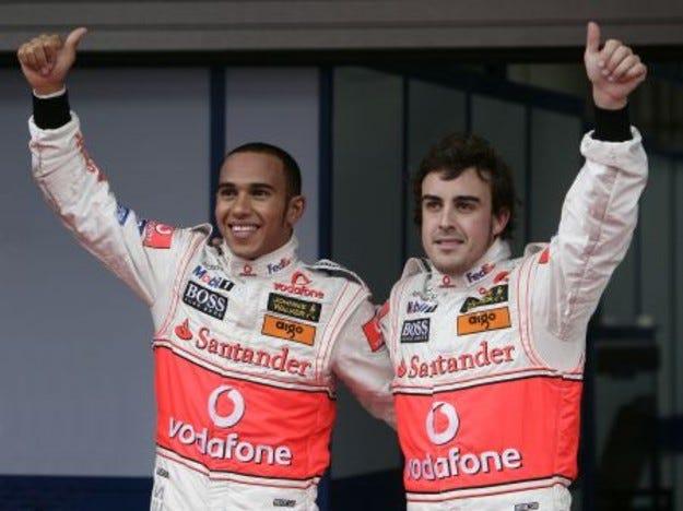 McLaren Mercedes: Преди старта