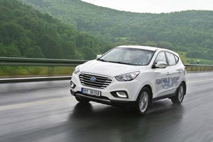 Hyundai Motor направи най-дългото пътуване с горивни клетки