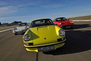 Porsche 911 T 2.0, Carrera RS 2.7 и Carrera 3.2