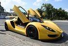 Серийният спортен автомобил Sin R1 дебютира в София
