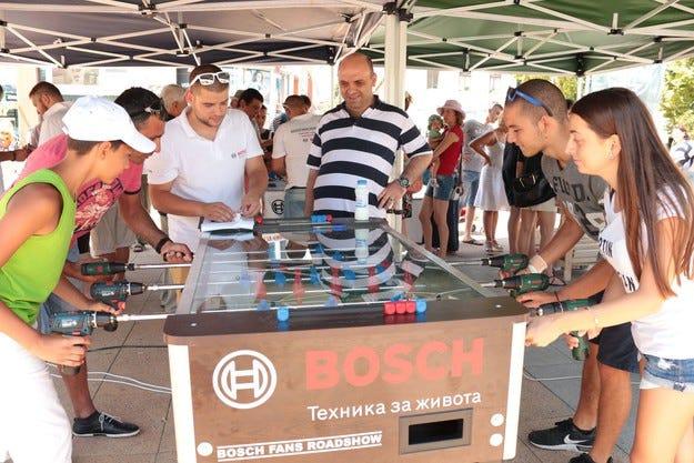 Bosch Fans Roadshow 2016 с рекорден брой участници