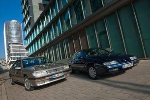 Citroën XM и Peugeot 605