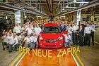 Стартира производството на новия Opel Zafira