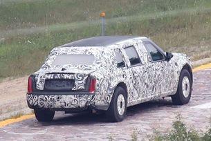 Президентската лимузина Cadillac вече прави първи тeстове