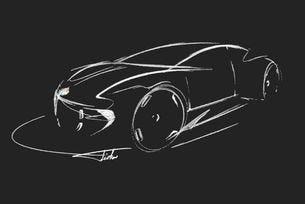 Хенрик Фискер пусна първи скици на нов спортен модел