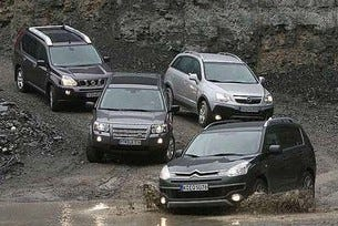 C-Crosser vs. Freelander, X-Trail & Antara