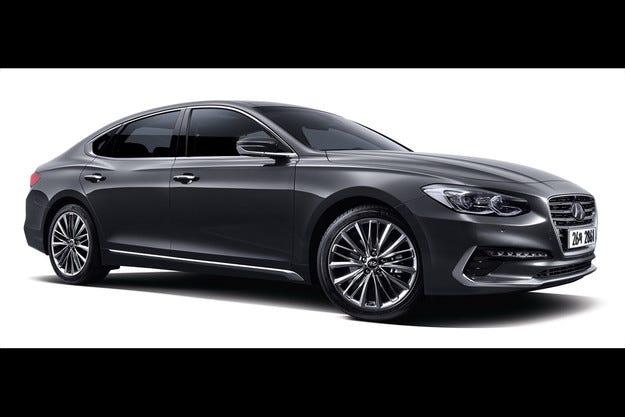 Hyundai свали завесата над новото поколение Grandeur
