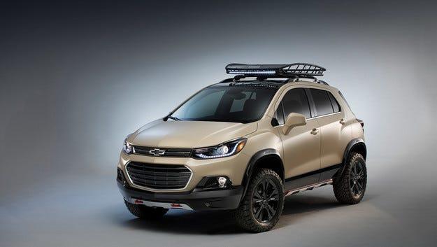 Кросоувърът Chevrolet Trax Activ кани за приключения