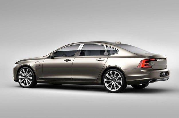 Volvo представи най-скъпия седан в историята си