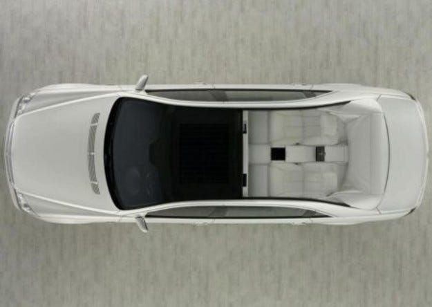 Maybach 62S Landaulet