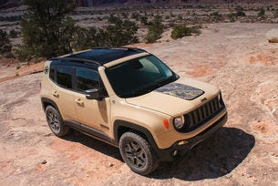 Jeep Renegade отива в Лос Анжелис с две спецверсии