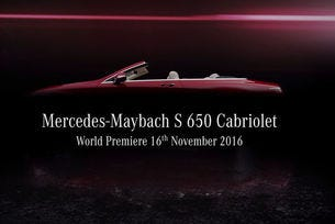 Mercedes-MaybachS 650 Cabrio дебютира в Лос Анжелис