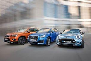 Audi Q2, Mini Clubman и Seat Ateca: Между SUV и комби