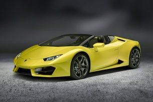 Роудстърът Lamborghini Huracan получи задно предаване