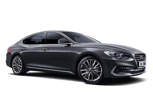 Hyundai разкри двигателната гама на новия Grandeur