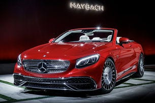 Mercedes-Maybach обяви цената на най-скъпия кабриолет