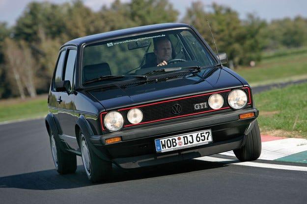 VW GolfI GTI Pirelli: Специален модел от 1983 с 600 к.с.