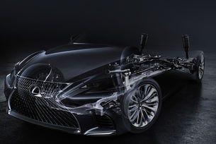 Lexus пусна първо изображение на новото поколение LS