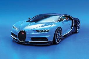 Bugatti Chiron (2016): 1500 к.с., W16 и цена 2,85 млн. евро