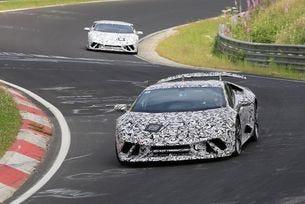 Lamborghini започна тестове на Huracan Superleggera