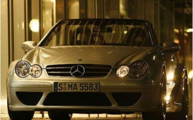Mercedes CLK DTM AMG Cabrio