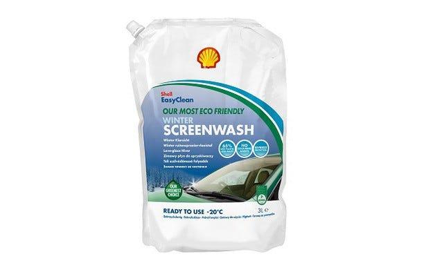 Зимна течност за чистачки Shell щади околната среда