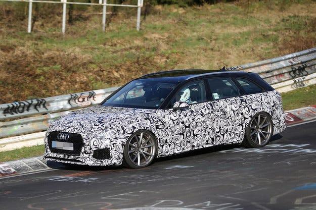 Прототипът Audi RS4 на интензивни тестове