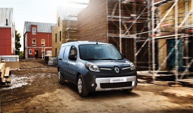 Renault  представя два нови лекотоварни електромобила