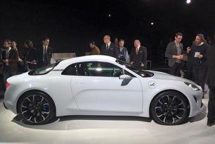 Renault представи концепта на спортния автомобил Alpine