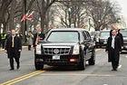 И президентската лимузина на Тръмп положи клетва