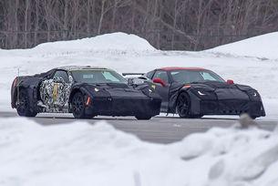 Chevrolet Corvette C8 2018 със средно разположен мотор