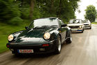 Audi quattro, BMW 2002 turbo, Porsche 911 Turbo: Турбо мощ
