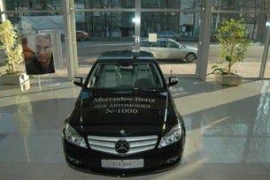 Хиляда леки автомобила Mercedes-Benz от началото на 2007 от Балкан Стар